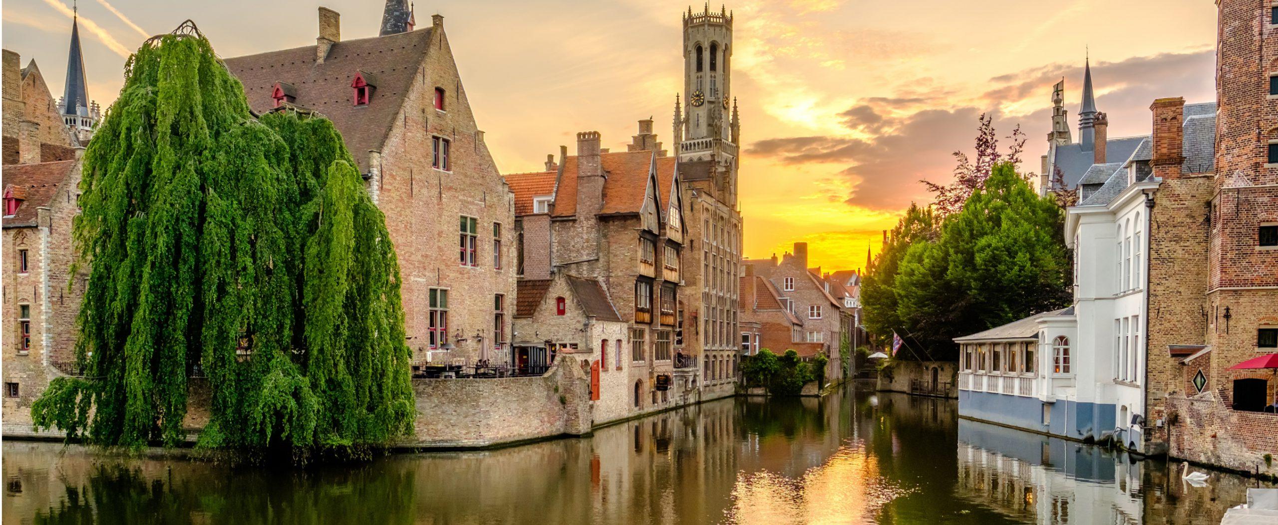BMCC Brugge - omgeving - landschap - over Brugge