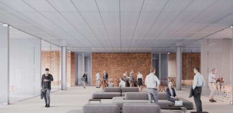 BMCC Brugge foyer © meta architectuurbureau