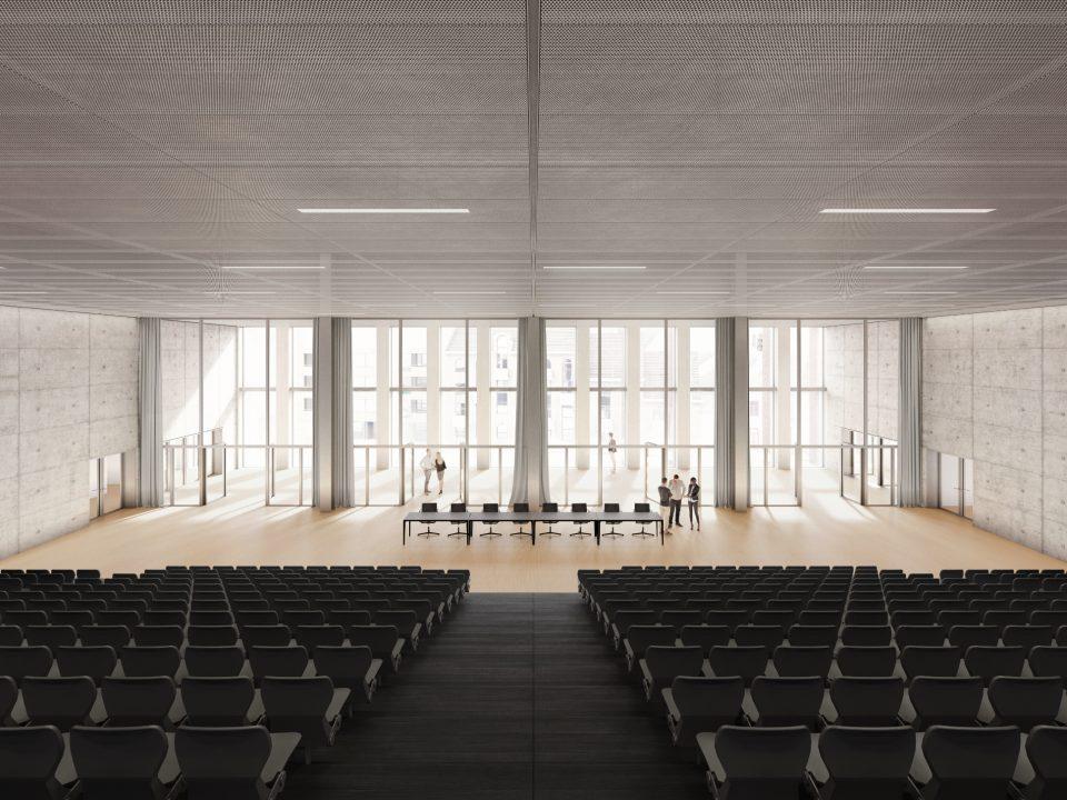 BMCC brugge auditorium