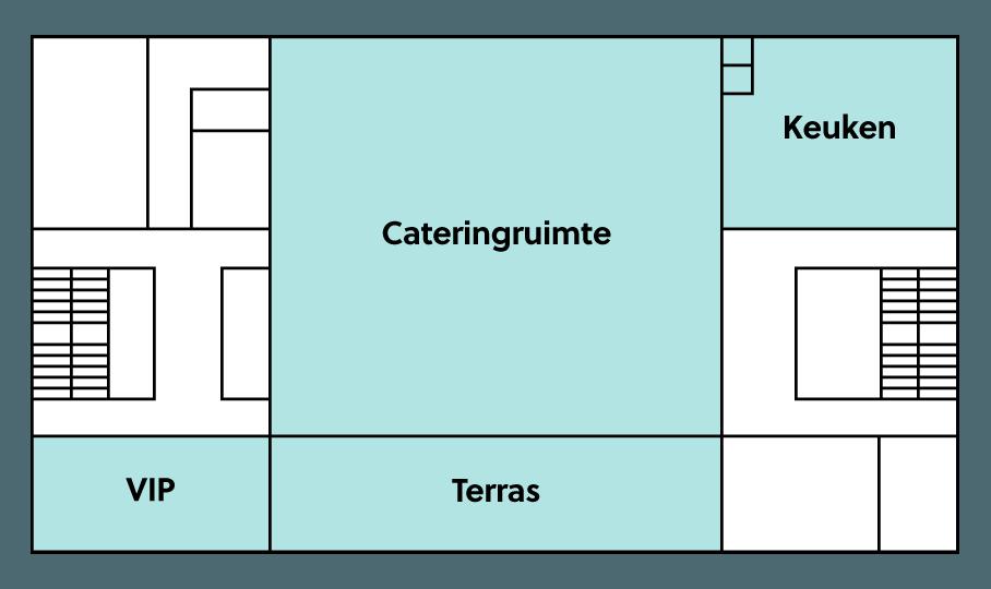 plattegrond BMCC catering en terras